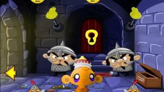 Прохождение игры Приключения Счастливой Обезьянки  Monkey GO Happy Adventure walkthrough