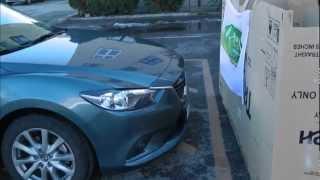 Pancserteszt: Mazda6 Smart City Brake Support