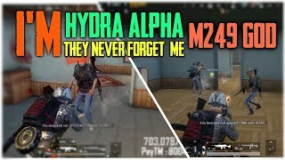 THEY WONT FORGET ME 😎 || H¥DRA | Alpha PUBG MOBILE HIGHLIGHTS!