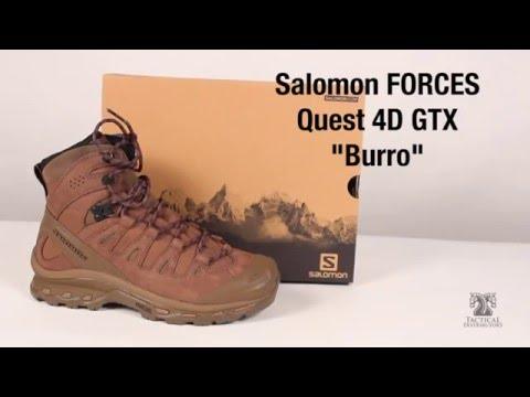 bed7f1e7a5a Salomon Forces Quest 4D GTX Boots Burro