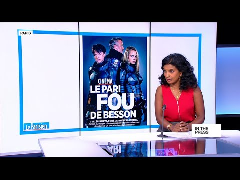 A 'crazy gamble': Luc Besson's €197m blockbuster 'Valerian' hits French cinemas
