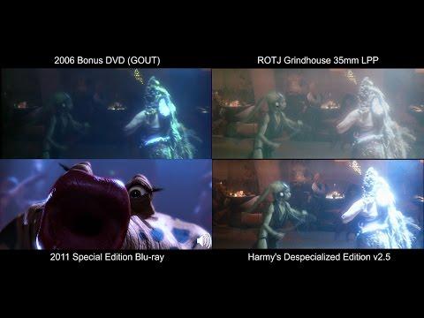 Lapti Nek/Jedi Rocks- RETURN OF THE JEDI Original Comparison (DeEd, Blu-ray, GOUT, LPP)