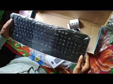 (Renewed) HP Wireless Multimedia Keyboard And Mouse (Black)