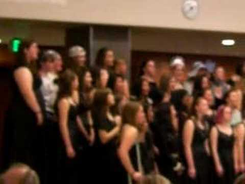 JDHS Concert Choir '08 - Wishin' & Hopin'
