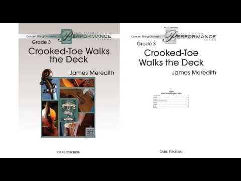 Crooked Toe Walks the Deck (CAS92) by James Meredith