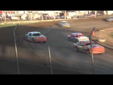 USRA Stock Car Heat 2 Upper Iowa Speedway 8/3/19