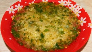 "Куриный суп ""Затируха""Chicken Soup ""Zatiruha"""