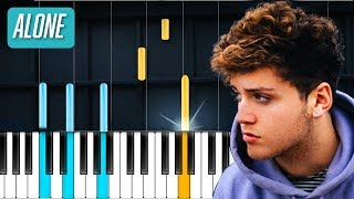 "Bazzi - ""Alone"" Piano Tutorial - Chords - How To Play - Cover"