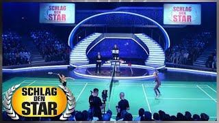 Spiel 2: Badminton - Schlag den Star