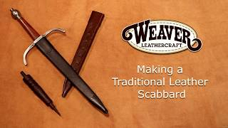 Making a Traditional Leather Scabbard