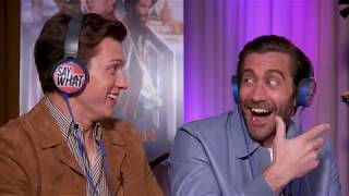 best of tom holland and jake gyllenhaal