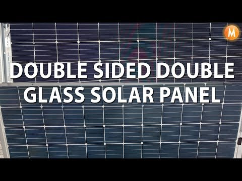 New Bifacial Solar Panels