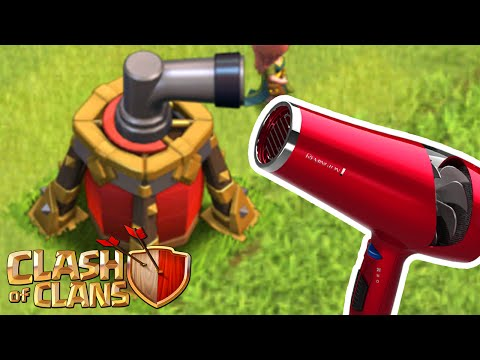 Clash Of Clans - THE BEST DEFENSE 'AIR SWEEPER!' THE STRONGEST DEFENSE IN CLASH!! (CoC Best Defense)