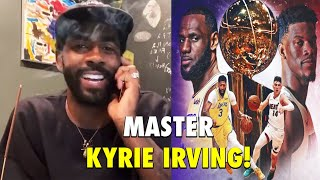 Kyrie Irving Talks About Lakers vs. Heat, His Life Experiences & Wisdom!