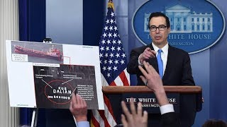 US announces the largest set of sanctions ever imposed on DPRK