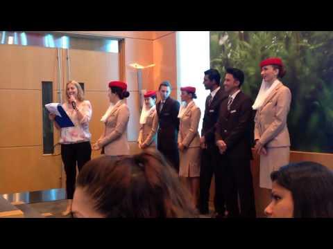 Emirates Aviation College Graduation Day  (May 13, 2015) Dubai