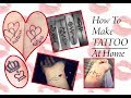 How To Make Tattoo At Home/My First Tattoo/DIY Temporary tattoo at home