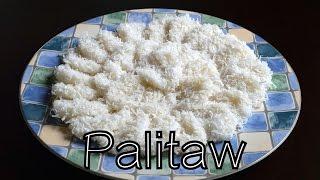 Palitaw (filipino Rice Cake) | Aj's Cooking Secrets