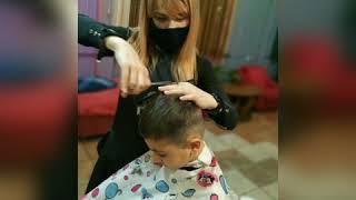 СТРИЖКА МАЛЬЧИКА Подстричь ребенка в Броварах Татьяна Угро салон LaFamilia Семейная парикмахерская