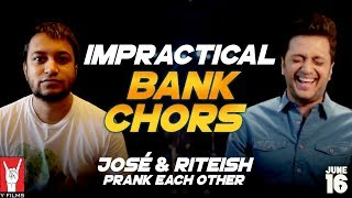 Impractical Bank Chors | Riteish Deshmukh | José Covaco | Rhea Chakraborty