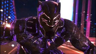 Black Panther - Car Chase Scene - Black Panther (2018) Movie Clip HD