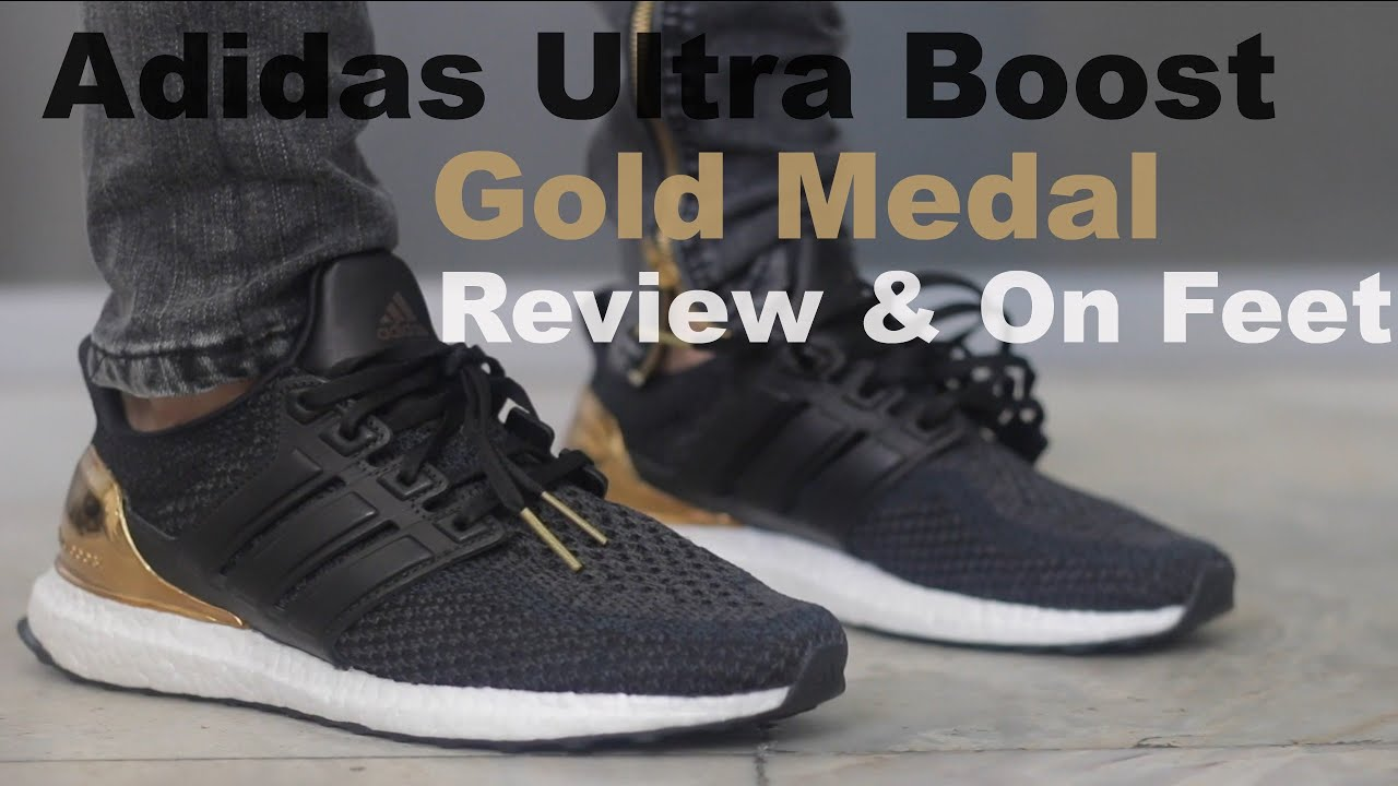 Adidas Ultra Boost 2.0 Olympic Gold Medal