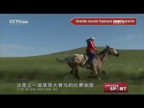 Bol d'air frais à cheval en Mongolie Intérieur