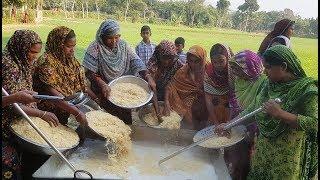 100 Packets Bengali Vermicelli, 100 Liter Milk & 80 KG Sugar Mixed Dessert Prepared By 15 Women