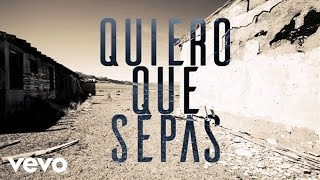 Juan Magan - Quiero Que Sepas (Audio)