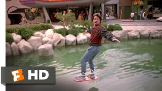 Back to the Future Part 2 (3/12) Movie CLIP - Hover Board Chase (1989) HD thumbnail