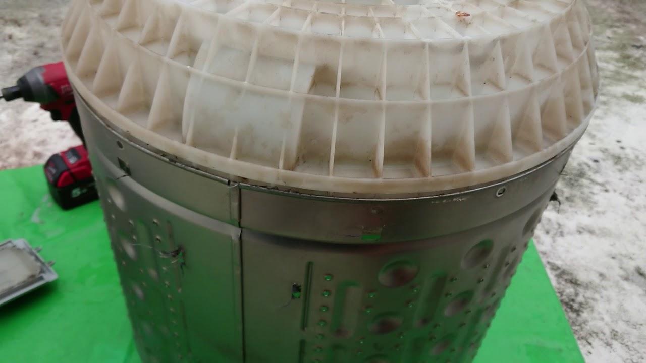 聲寶 三洋 洗衣機內桶底座拆法 - YouTube