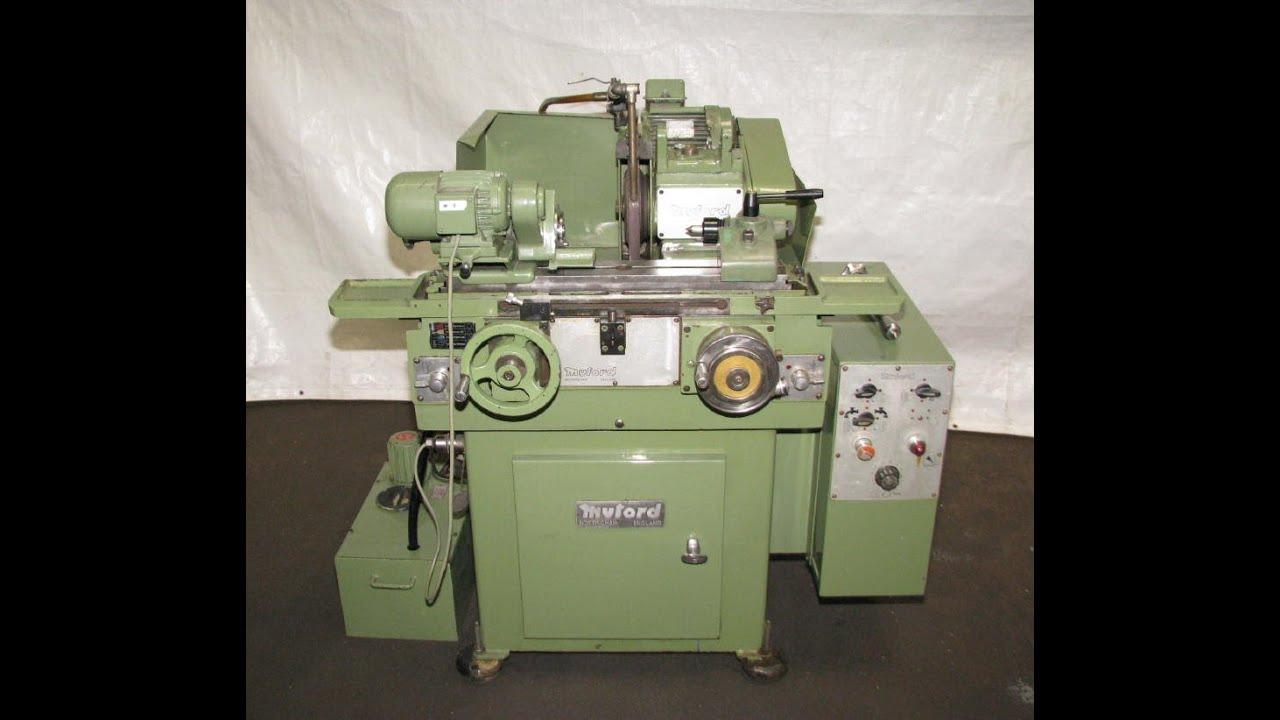 1984 Myford Manual Plain Cylindrical Grinder  Mg12 M  Ref