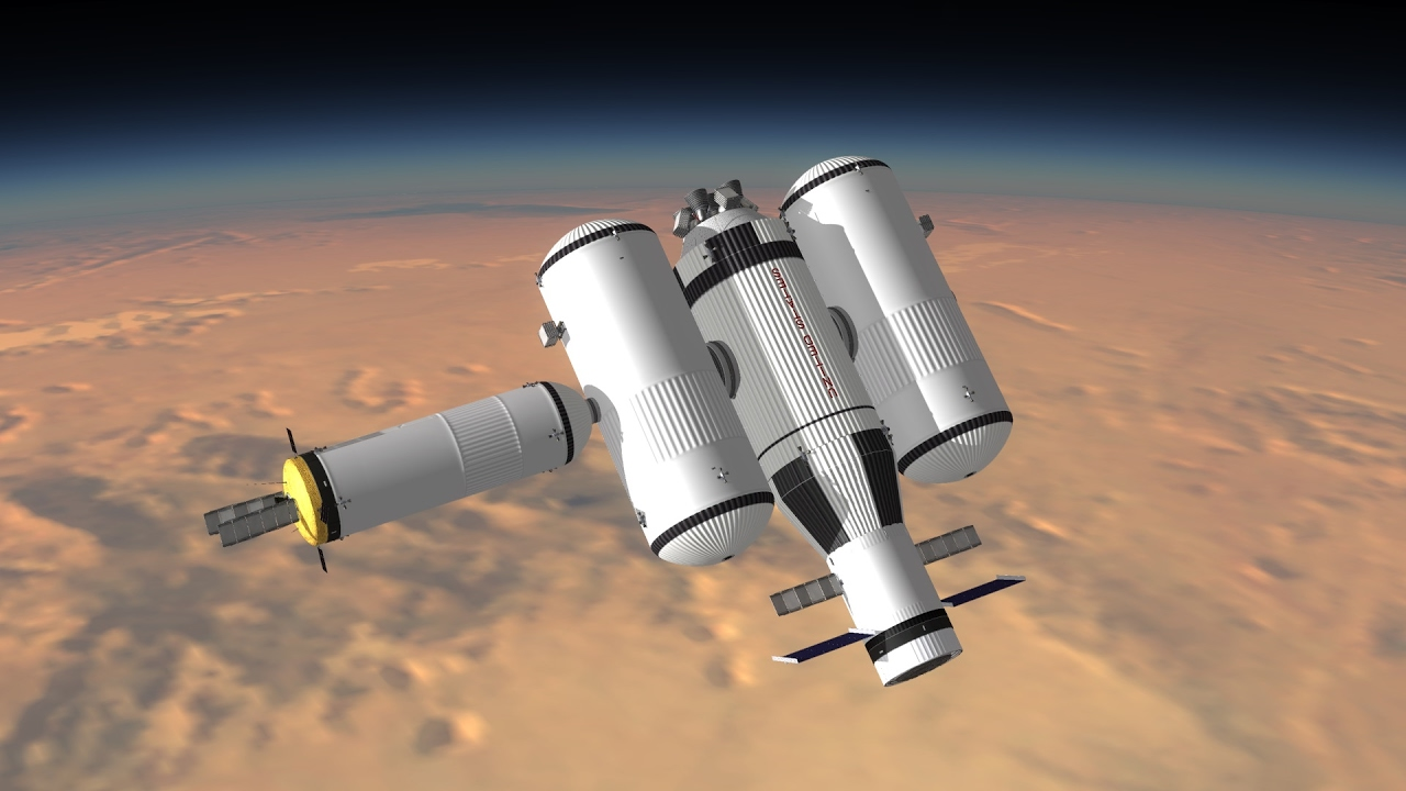 KSP - Ares Mission to Mars - RSS / RP-0 - YouTube