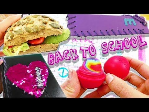 Top 5 Back to School DIY Ideen   EOS Radiergummi   Gesundes Frühstück   Stifte-Etui   Mermaid Fabric