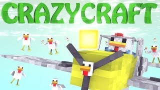 Minecraft | CrazyCraft - OreSpawn Modded Survival Ep 89 -