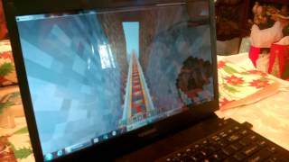 Minecraft rollercoaster awesome