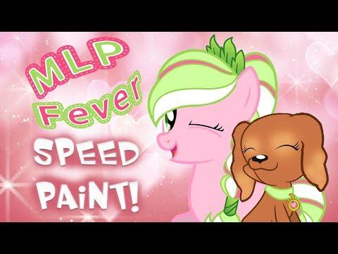 MLP FEVER OC SPEEDPAINT! My Little Pony Base Edit | MLP Fever