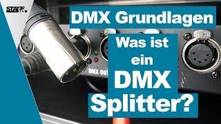 Was ist ein DMX Splitter? - DMX Grundlagen Tutorial für Anfänger | stage.basic