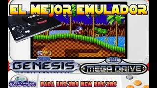 Tutorial 3DS: El mejor Emulador de Sega Megadrive/Genesis en Nintendo 3DS/2DS Homebrew Launcher Apps