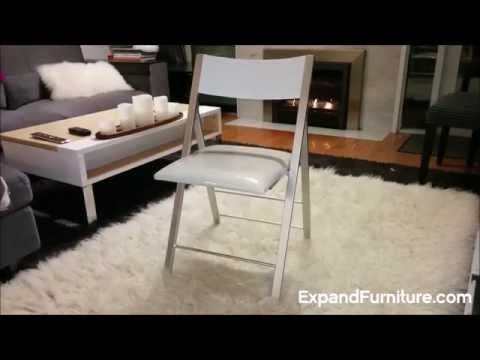 Nano Compact Folding Chair with Cushioned Seat