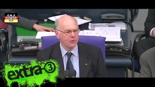 Neulich im Bundestag: Einbrüche