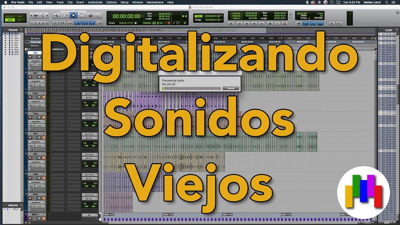 Digitalizando sonidos viejos