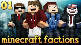 NOVA AVENTURA! - MINECRAFT FACTIONS MEDIEVAL #01