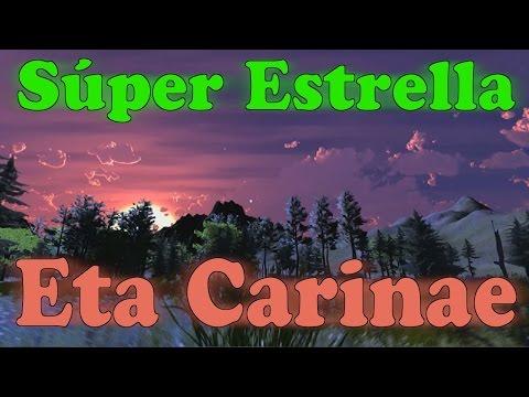 Súper Estrella Eta Carinae / Cómo se vería en Nuestro Sistema Solar