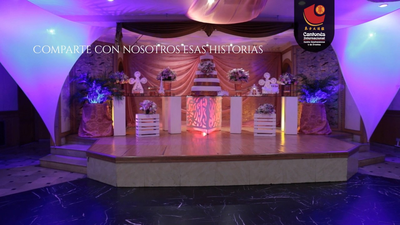 Restaurante canton s eventos youtube for Alquiler de locales en madrid centro para fiestas
