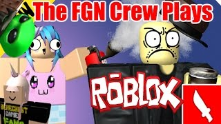 The FGN Crew Plays: ROBLOX - The Mad Murderer UPDATED (PC)
