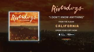 """Riverdogs – """"I Don't Know Anything"""" (Official Audio)"""
