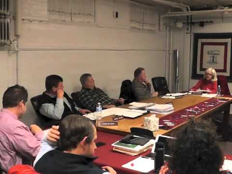 Ticonderoga Town Board Meeting  12-11-14