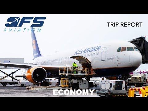 TRIP REPORT | Icelandair - 767 300 - Reykjavík (KEF) to New York (JFK) | Economy