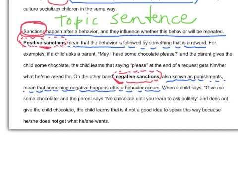 Example Definition Sentences Paragraph